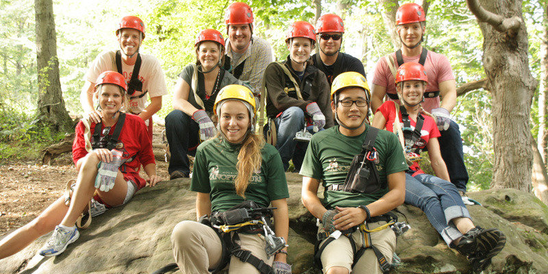 Hocking Hills Zipline Canopy Tour | Paddock at Hayden Run Apartments