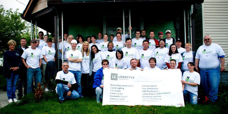 LC Cares Rebuilding Together | Lifestyle Communities