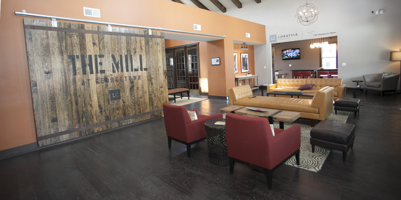 The Mill at Georgetown Apartments | Community Center