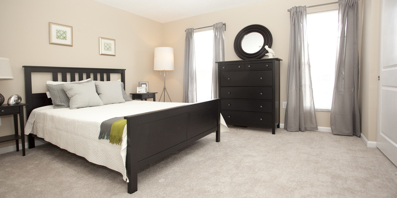 Bedroom | Preserve Crossing Apartments Gahanna, OH